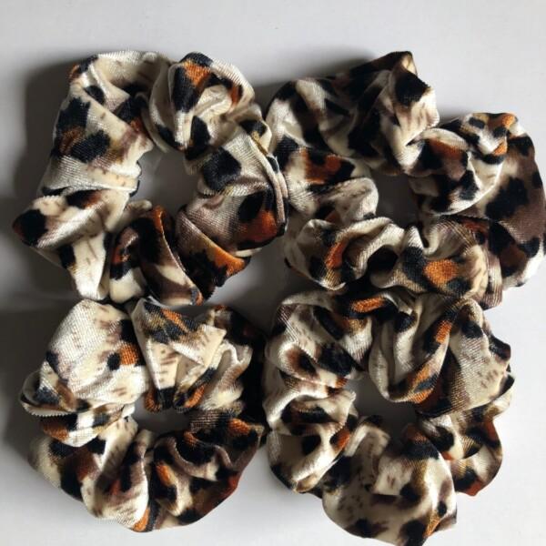 Scrunchie Leopard Print – Cow