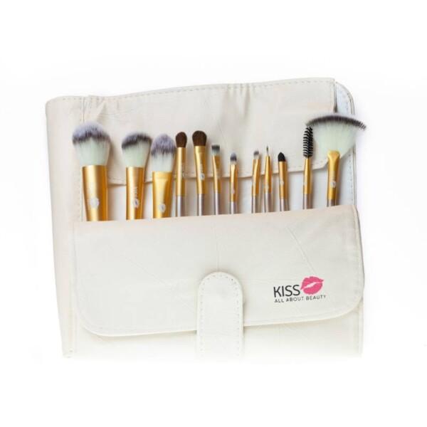 Cream Gold Brush Set